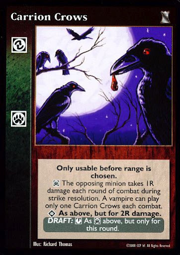 Retainer Raven Spy VTES V:TES Jyhad