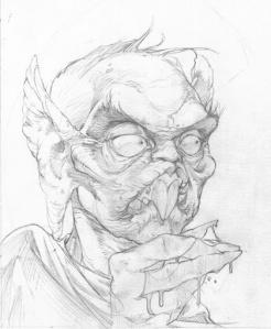 Nikolaus Vermeulen Sketch - (c) by James Stowe/White Wolf