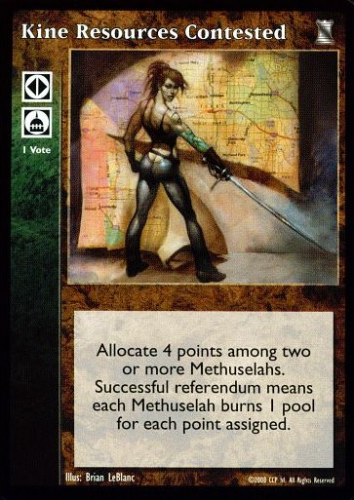 Political Action VTES V:TES Anarchs Reins of Power x4