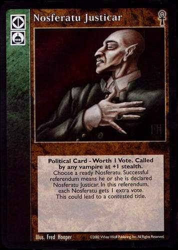 Keepers of Tradition Specialization VTES V:TES Master