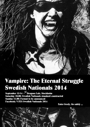 Swedish Nationals flyer