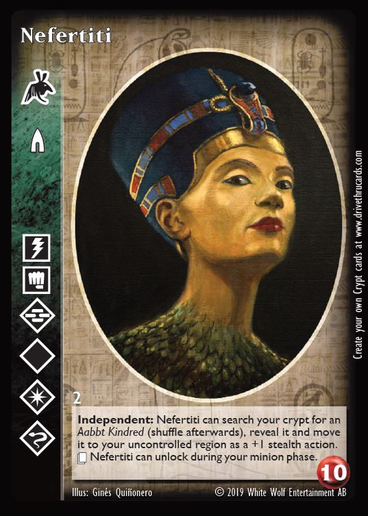 Nefertiti Advanced Followers of Set Promo V:TES VTES